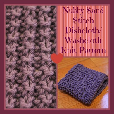 Nubby Sand Dishcloth