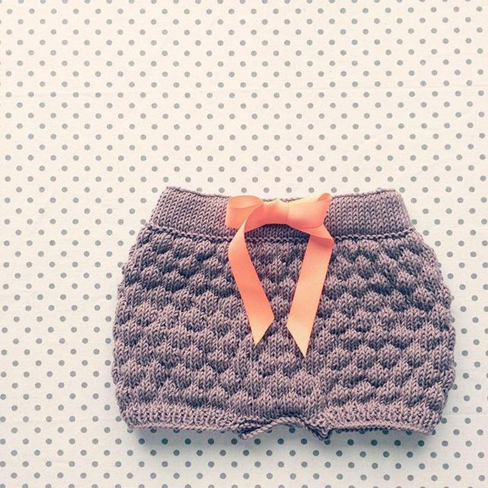 The Sailor Bubble Shorts Knitting pattern by Sofie Bovbjerg ...