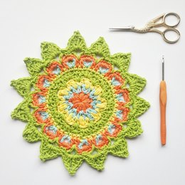 Happy Days Mandala