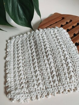 The Spring Buds Dishcloth