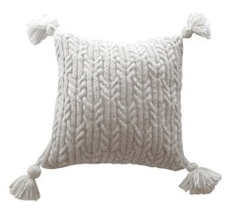 Aran Trellis Cable Cushion
