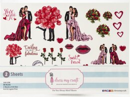 Dress My Craft Image Sheet 240gsm A4 2/Pkg - For You Always