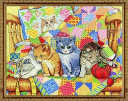 Design Works Rocking Kittens Cross Stitch Kit