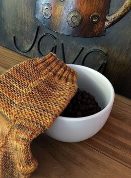 Pumpkin Spice Sock