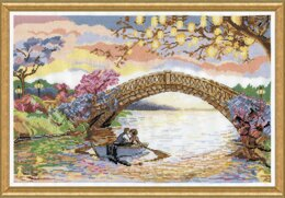 Design Works Forever Kiss Counted Cross Stitch Kit - 46 x 30.5cm