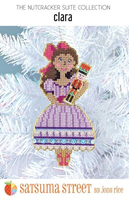 Satsuma Street Clara Nutcracker Cross Stitch Kit