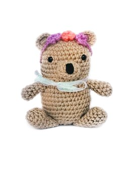 Beverly the Bear Crochet Pattern