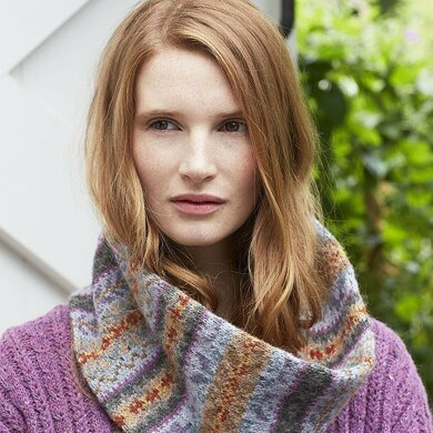 Nelly Fairisle Cowl