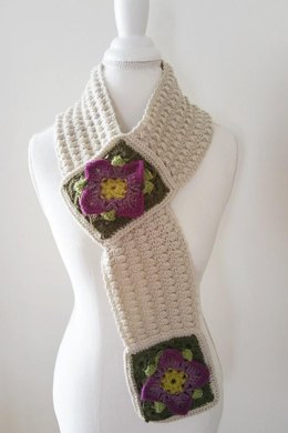 Structured Rock Cress Scarf