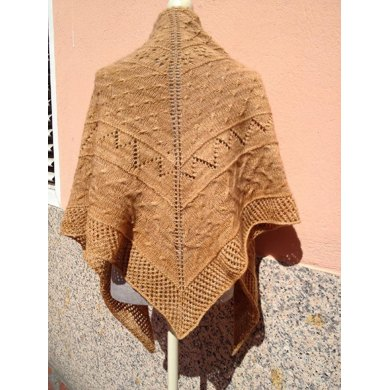 Brown Sugar Shawl