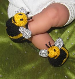 Baby Buzzy Bee Boots