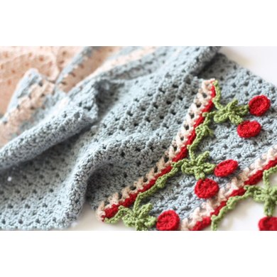 Cherry Blushes Crochet Pattern By Sandra Paul Crochet Patterns