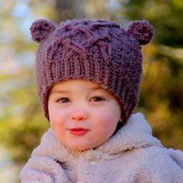 Little Bear Cable Hat