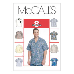 McCall's Men's Shirts M2149 - Sewing Pattern