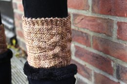 Criss Cross Boot Toppers