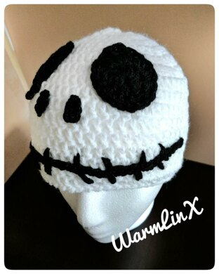 Jack Skellington inspired Crochet Hat Crochet pattern by WarmLinx 856645464de