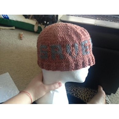 Save A Cat Knitted Hat