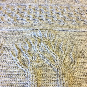 Tree Of Life Afghan in Lion Brand Wool-Ease - 90360AD   Knitting