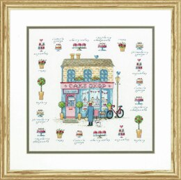 Dimensions Counted Cross Stitch Kit: Cake Shop - 30.5 x 30.5cm