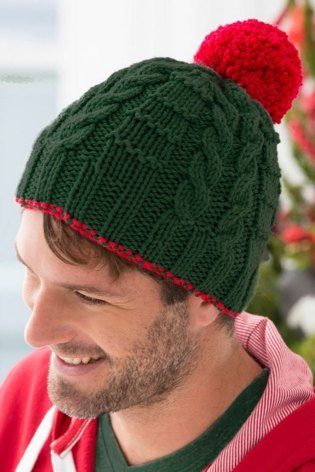 Christmas Gift Beanies in Red Heart With Love Solids - LW3735