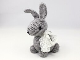 Big Easter Crochet Bunny