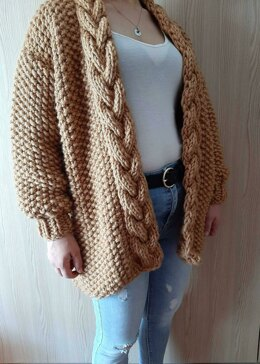 Winter Cable Cardigan