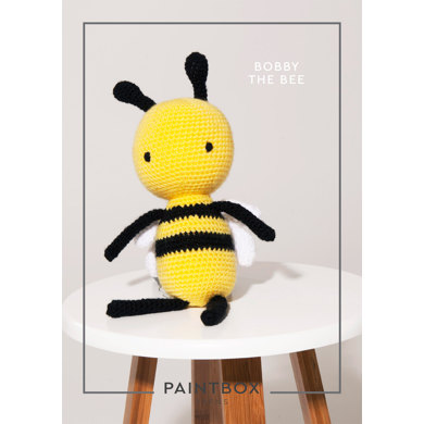 """""""Bobby the Bee"""" : Amigurumi Crochet Pattern for Toys in Paintbox Yarns DK 