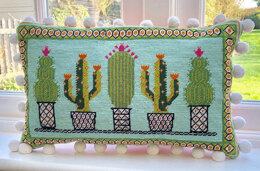 Historical Sampler Company Cactus Tapestry Kit