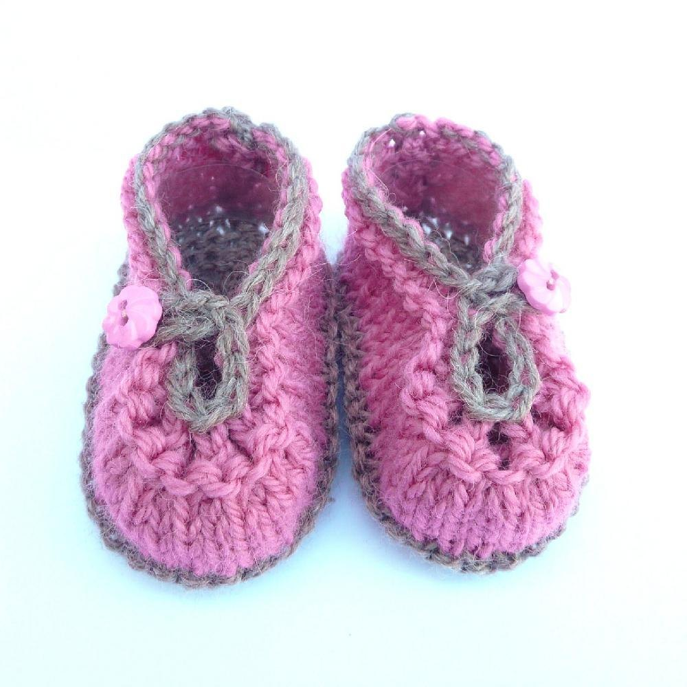 Knitting Baby Shoes : Summer sorbet baby shoes knitting pattern by katy farrell