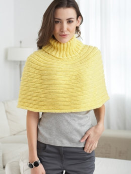 Just Enough Cape in Caron Simply Soft