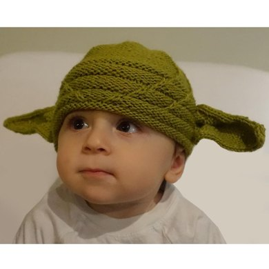 Yoda Hat Knitting Pattern By Amanda Kaffka
