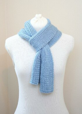A15 Womens Ribbed Scarf
