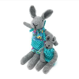 Crafty Kit Co Knit Your Own Bunnies Kit