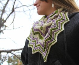 Spring Blossoms Cowl
