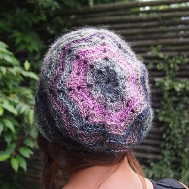 Chevron Zig Zag Slouchy Hat Beret Crochet Pattern By Accessorise