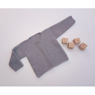 Simple Cardigan in Larger Sizes