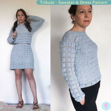 Tribute Sweater and Dress