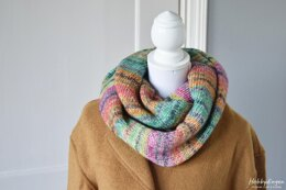 Colorful Stripes Infinity Scarf