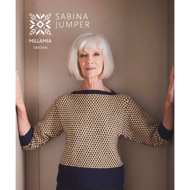Sabina Jumper in MillaMia Naturally Soft Merino - Downloadable PDF