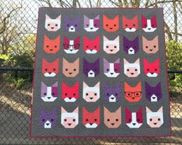 Elizabeth Hartman The Kittens Quilt Pattern