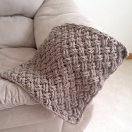 Diagonal Weave Blanket