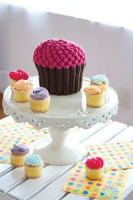 Knitted Cupcake Hat