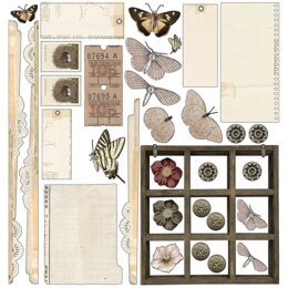 "49 And Market Collection Pack 12""X12"" - Vintage Artistry Natural"