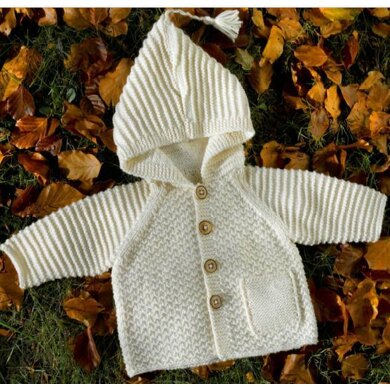 Charlie Jacket Knitting Pattern 7 Sizes Newborn to 4 Years