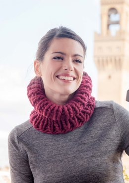 Cowl in Gedifra Perulana - G0186 - Downloadable PDF