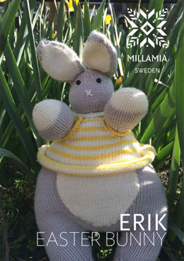 Erik Easter Bunny Toy in MillaMia Naturally Soft Merino