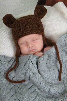 Little Bear Hat Baby Cakes by Little Cupcakes - lisaFdesign - Bc23
