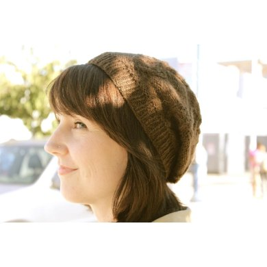 Twisted Ribbons Beret