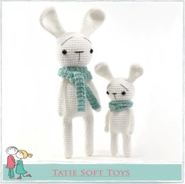 FREE Amigurumi Straight Bunny 2 in 1
