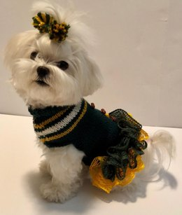 Cheerleader Doggie Dress